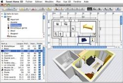 Sweet home 3D, logiciel de décoration pour Mac