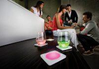 Dessous de verre lumineux Philips Lumiware