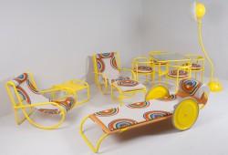 Le mobilier de jardin du film La Piscine à vendre au Salon du Vintage