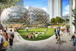 Ne regardez PAS les premières photos du nouveau siège d'Amazon à Seattle