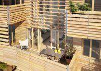 Résidence neuve avec façade en bois : n°15 by Nexity