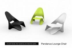 Pandanus lounge chair par jessica konawicz