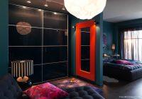 Intérieur design avec une dominante de noir (Ikea)