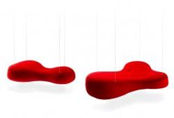 Envoyez vous en l'air… Sur cet étonnant sofa suspendu Bouli !