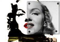 Tableau Marilyn Monroe par J&J Moatti