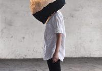 Suspension cocon en papier maché Pulp Lamp