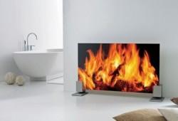 Radiateur feu de cheminée