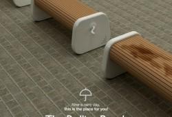 Rolling bench, le banc public toujours sec