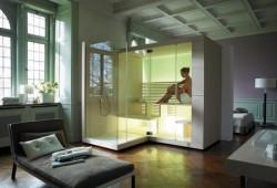 Sauna high tech Inipi par Duravit