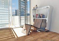 Self-chair / Bibliothèque avec chaise intégrée