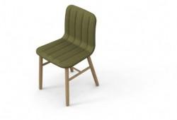 Slat chair   chaise en chêne par Jun Yasumoto