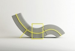 Méridienne design Curve Frame sofa | Cho Hyung Suk
