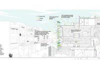 Plan de maison écologique contemporaine Stacking Green