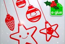 Stickers de décoration pour Noël