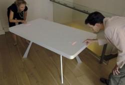 Table en corian – jeu video, Pong table