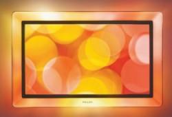 Téléviseur design avec cadre lumineux Philips