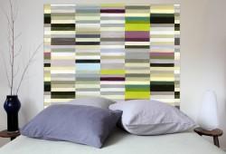 Têtes de lit en tissu sans fixation au mur Mademoiselle Tiss