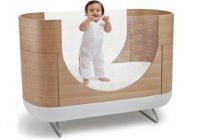 Ubabub, Pod Cot, lit bébé en bois avec parois transparentes