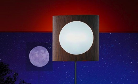 lampadaire halog ne lunaire keplero. Black Bedroom Furniture Sets. Home Design Ideas