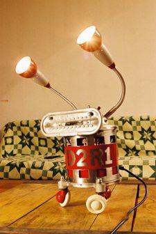 lampe robot D2R1