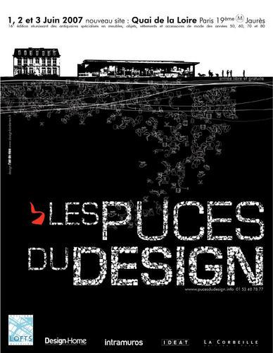 affiche Les puces du design 2007