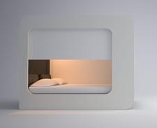 lit baldaquin du futur avec éclairage intégré - Hi-can