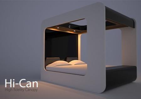 le lit du futur Hi-Can par Eduardo Carlino