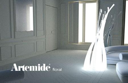 photo du luminaire Artemide Floral