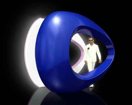 luminaire Elliptik design Karim Rashid