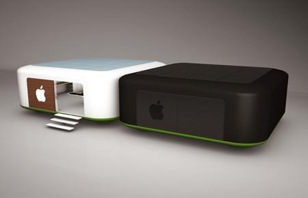 ca vous dirait de travailler dans une pomme. Black Bedroom Furniture Sets. Home Design Ideas