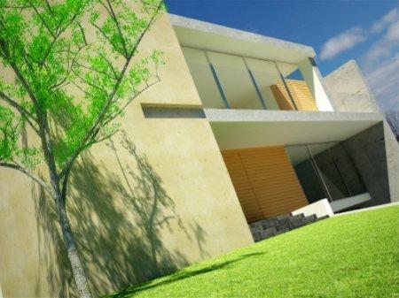 Maison contemporaine dessinée par l'architecte Rogelio Del Toro