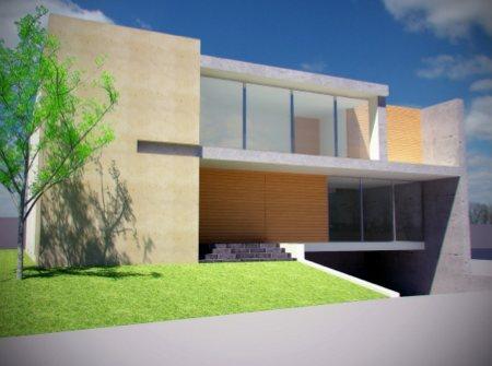maison contemporaine design - Rogelio del Toro architecte