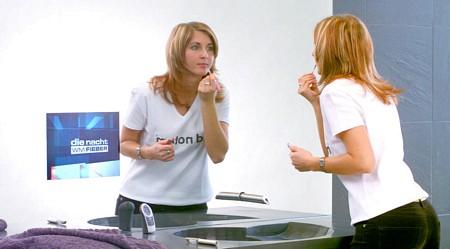 photo du miroir téléviseur intégré Magic Mirror - Ad Notam