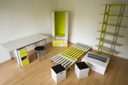 mobilier complet pour 1 pièce dans une boite