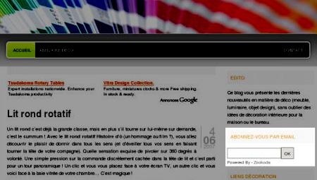 newsletter de la décoration et du design - leblogdeco.fr