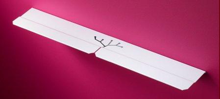 étagère d'entrée phone tablet - Studio Manzano