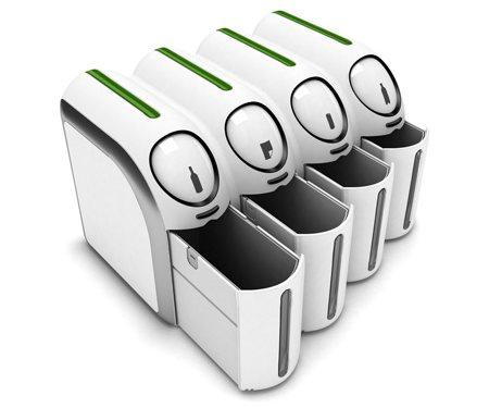 La poubelle intelligente qui trie pour vous votre maison va devenir intel - Poubelle recyclage maison ...