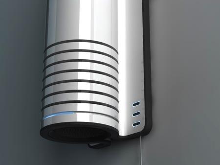 radiateur design cylindrique
