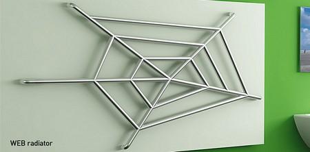 radiateur design toile d'araignée - Web - Manworks