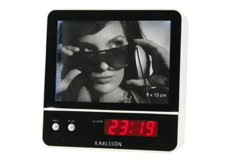 radio-réveil cadre photo parlant - Karlsson