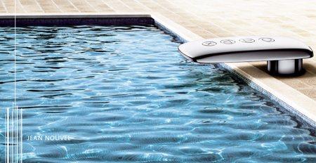 robinet tactile design Jean Nouvel - Jado