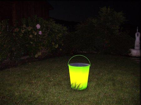 seau lumineux solaire Energy bucket - Stefano Merlo