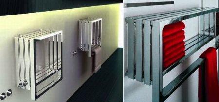 sèche-serviettes design Monte-Carlo - Peter Jamieson - Tubes radiatori