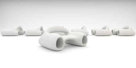 un sofa sorti de la Guerre des étoiles - Accelerate sofa