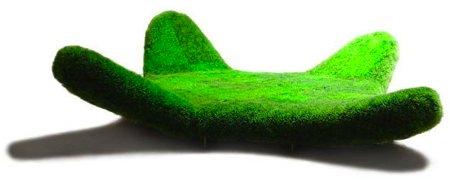 sofa vert gazon - Felipe Zanardi