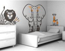adhésif mural pour chambre d'enfant Eglue