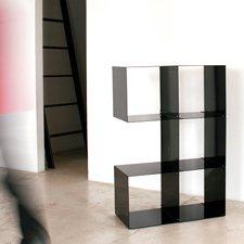 système de rangement quad composé de cubes en métal