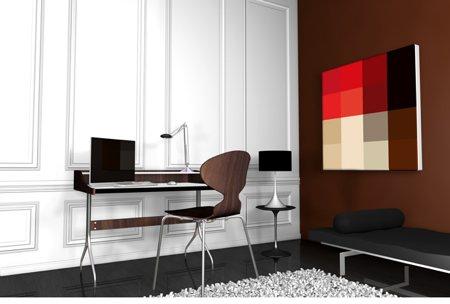 tableau mosaïque design Red atsil