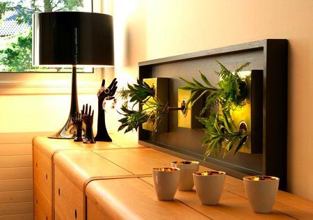 tableau végétal Flowerbox