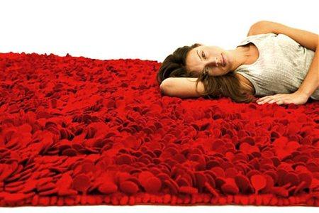 tapis de roses